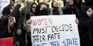 Women protest Egypt